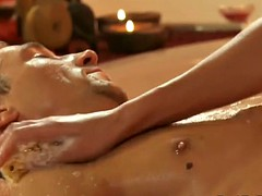 golden knead from blonde babe