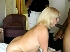 PAWG Wife goes to hand it..