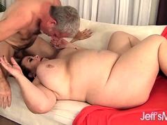 BBW Lady Lynn Knocker Fucks..