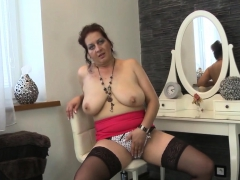 Kinky MILF craves for big toys