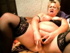 BBW toying concerning the..