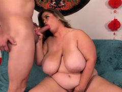 Fat Cougar Hayley Jane Takes..