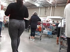 Sexy BBW PAWG in gray..