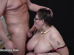 Busty Honoured does her big..