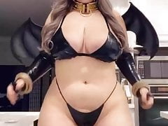 thick cosplay found on..