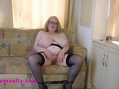 Huge tits English Granny..