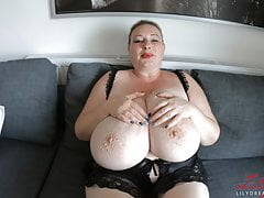 BBW Lily - Painting My..