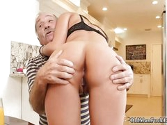 Fat horny old daddy at hand..
