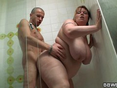 Huge titted paunchy screwed..