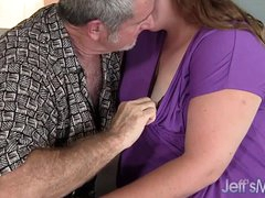 BBW Turn red gets fucked good