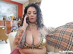 Heavy Belly Dancer Gets Lost..