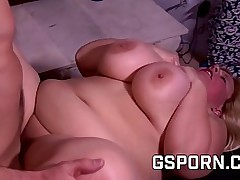 Obese milf fucked coupled..