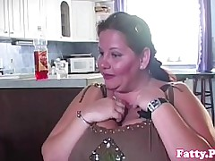 Bigtitted BBW titfucking..
