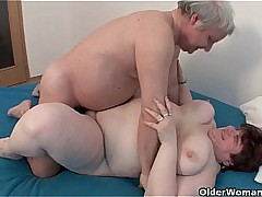 BBW grandma still enjoys..