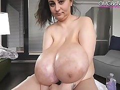 heavy tits amateur with..