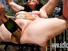 BBW carbon copy fisted..