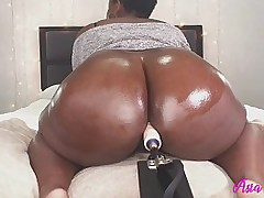 Fat Ass BBW Playing With Her..