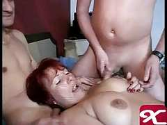 German mature let the boys cum