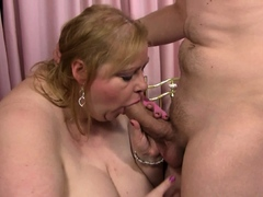 Hot chubby bbw is picked..