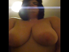 Fat bbw slut riding cock POV