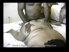 Huge black women get him to..