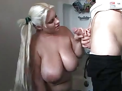 Bbw chubby and huge saggy..