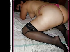 Sexy Latin Milf Guiss in Pink