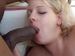 Chubby Blonde Plays with..