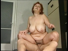 Big Tit Granny Mathilda Gets..