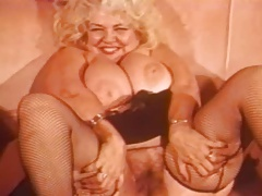 Vintage Fat Blonde Big..