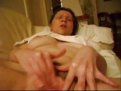 Amateur busty real orgasm