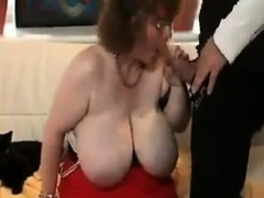 Fat Mature Woman Getting..