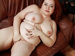 Plump and red headed Arina