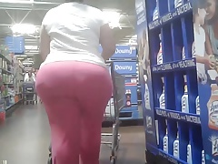 Candid Big Round Ass -..