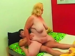 Horny Blonde With A Lot Of..