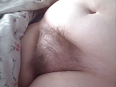 her hairy pussy is so soft..