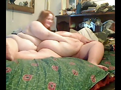 Fat BBW Teen GF playing with..