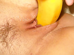 inserting banana in wifes..