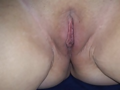 Sarah's pussy filled..