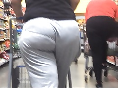 VPL Phat Ass in Loose Grey..
