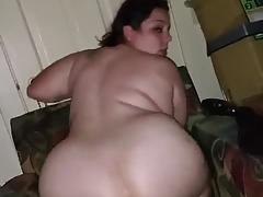 White Wife Riding Huge..