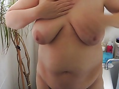 My BBWs beamy tits