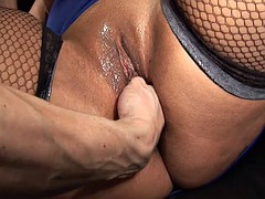 BBW french unlighted banged..
