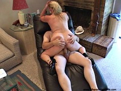 Anal Dirty Blonde Mature..