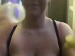Big boobs  MILF Pumping..