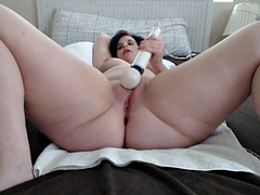 bbw squirting and orgasm w..