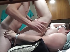 Bbw wife obtaining fucked..