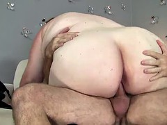 chubby interlude gets nailed..