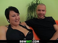 Brown bbw picked close by..