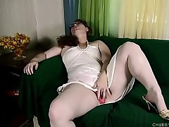 Busty sexy fatty loves to..